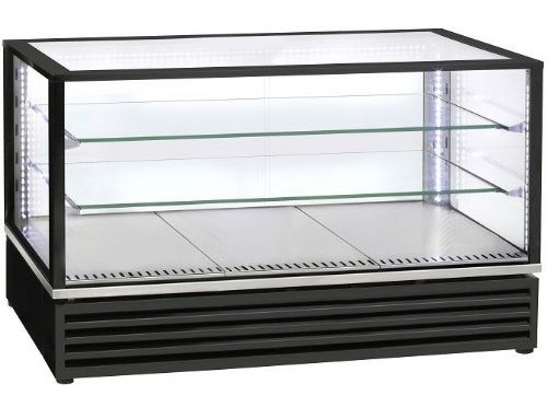 Roller Grill CD1200 Black Finish Horizontal refrigerated display Refrigerated Displays